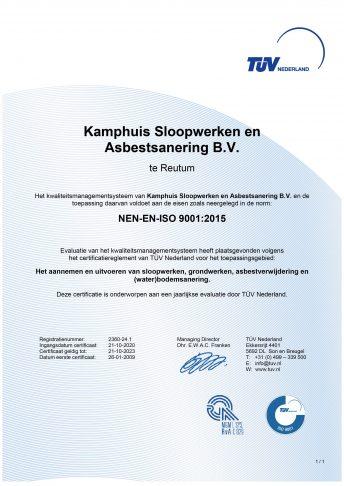 NEN-EN-ISO 9001:2015