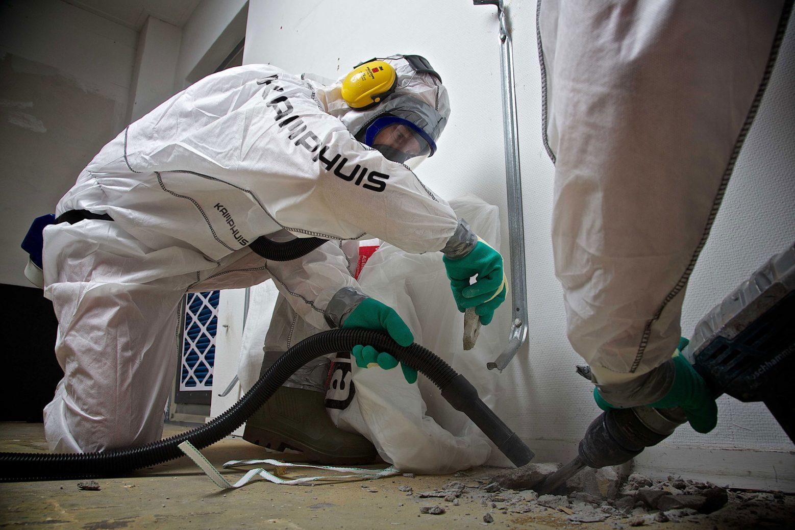 Asbestsanering is precisiewerk.